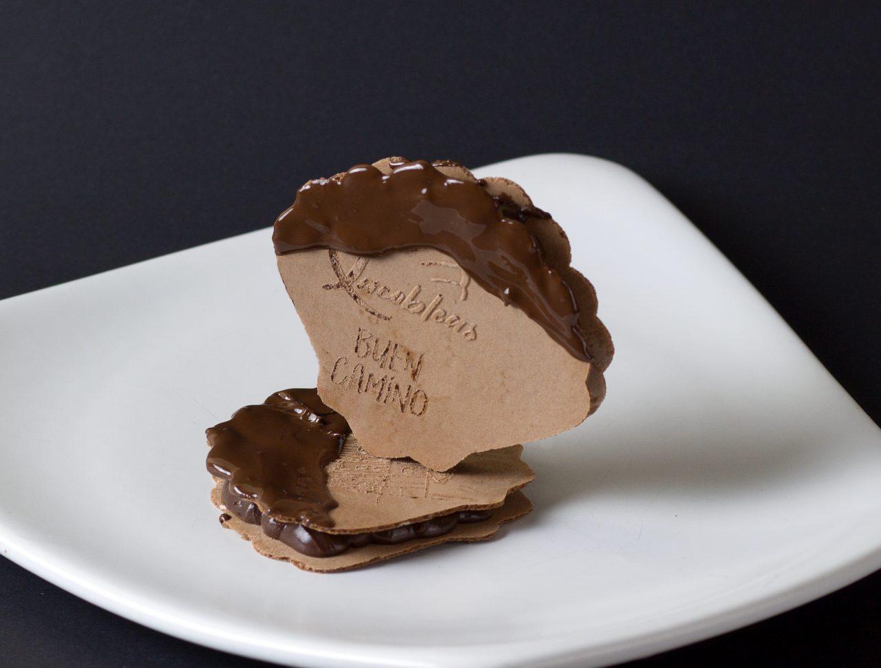 Ganache con Xacobleas de cacao