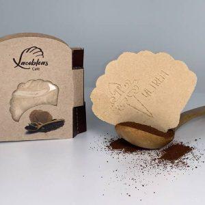 Xacobleas café formato cartón