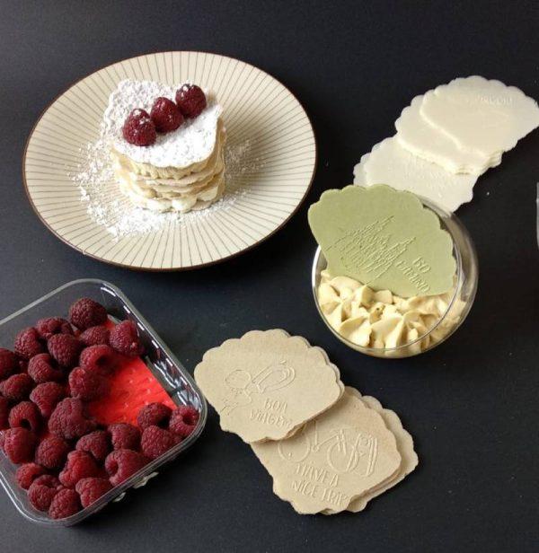 recetas de helados milhojas canapes con dulce de leche o crema de cacao